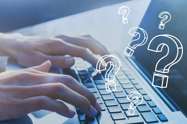 FAQ, ask quiestion online, what where when how and why, search information.